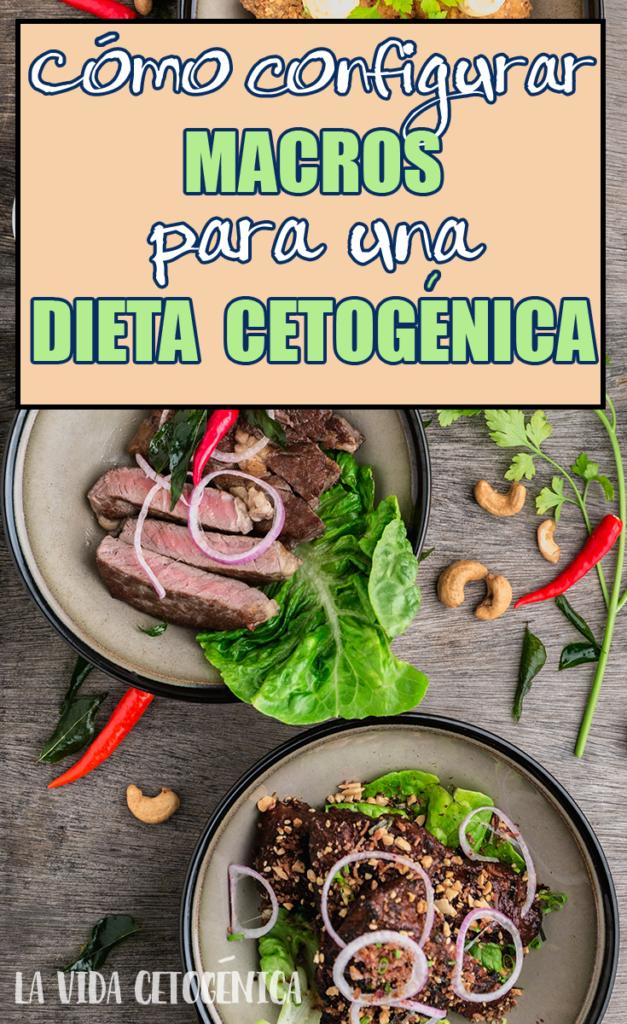 Como configurar macros para una dieta cetogenica