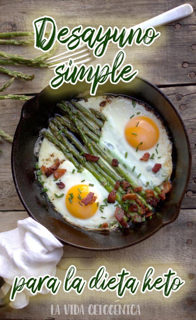 esparragos dieta keto receta desayuno PIN