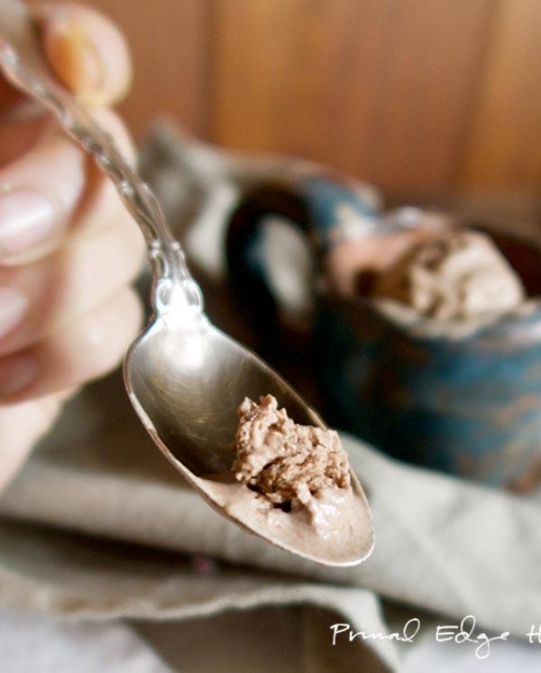 Fácil receta de chocolate helado Keto