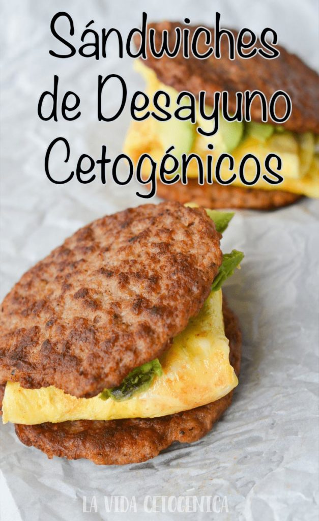 Sándwiches de Desayuno Cetogénicos