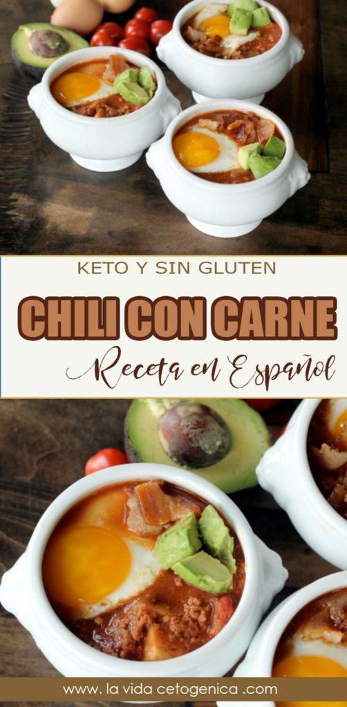chili con carne en español